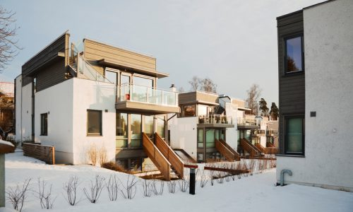 Contemporary, functional architectural Style house. Oslo, Norway.